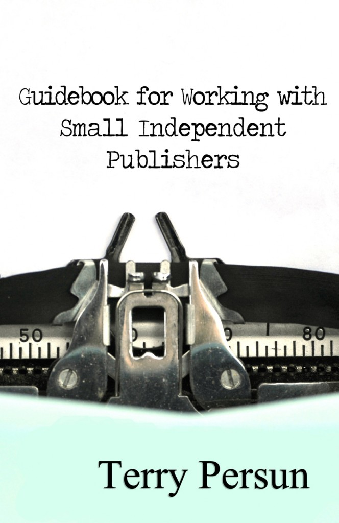Guidebook for working with Small Independent Publishers cover.