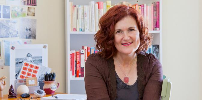 Photo of author Karen Karbo.